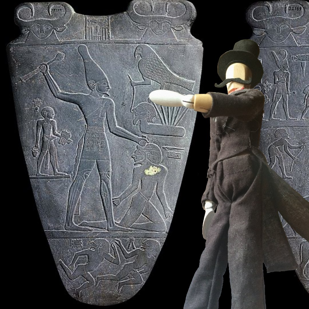 an introduction to the history of king narmers palette in ancient egypt Historical identity narmer's identity is the subject of ongoing debates, although the dominant opinion among egyptologists identifies.